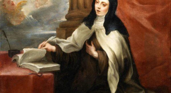 buc thu viet tay cua thanh nu terexa thanh avilla 600x327 - Tìm thấy hai bức thư viết tay của thánh nữ Têrêxa thành Avilla