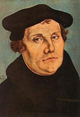 """31 martinluther - Martin Luther và """"vấn đề làm thế nào đón nhận được Thiên Chúa tình thương?"""""""
