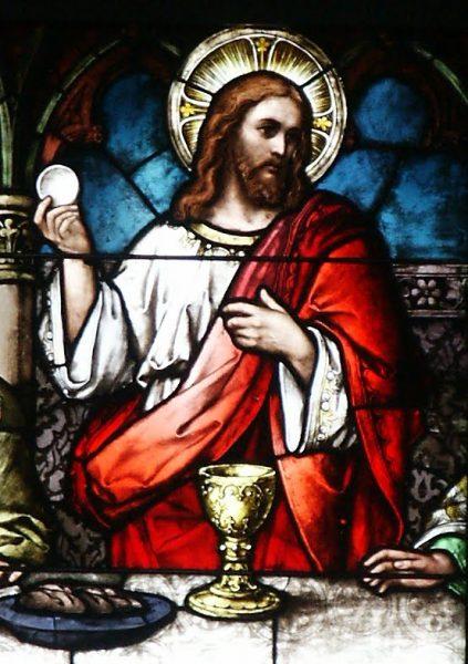 christ eucharist 423x600 - Thánh Thể Là Trung Tâm Đời Sống Kitô Hữu