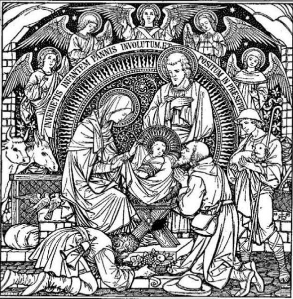 christmas 589x600 - Mầu nhiệm là gì?