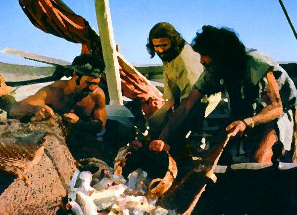 fishers of men 600x435 - Hãy quăng lưới: ngư nghiệp thời Chúa Giêsu