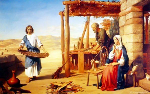 giadinh 600x375 - Gia Đình Chúa Giêsu theo tường thuật của các Tin Mừng