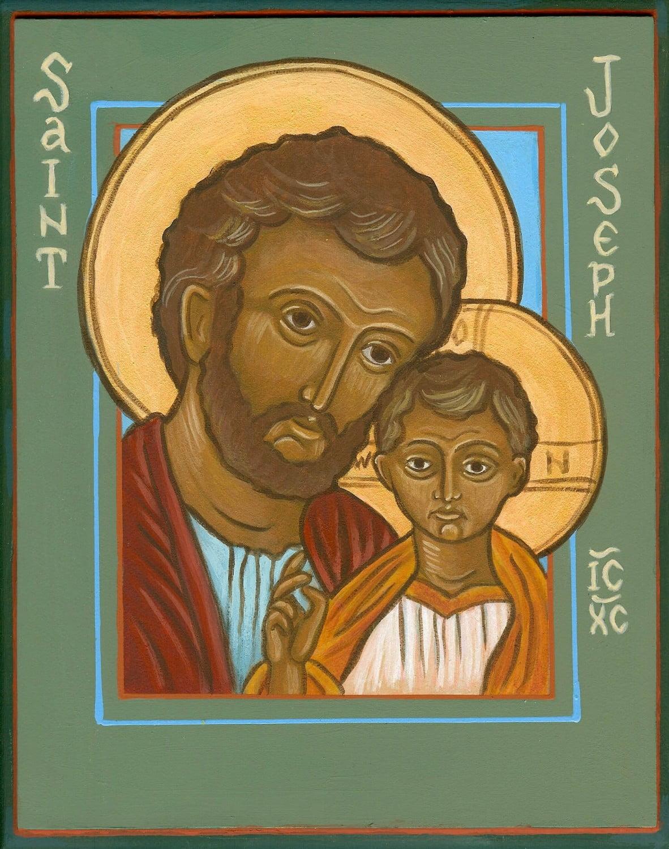 jesus and st joseph - Nhận xét tổng quát về Thánh Giuse trong Kinh Thánh