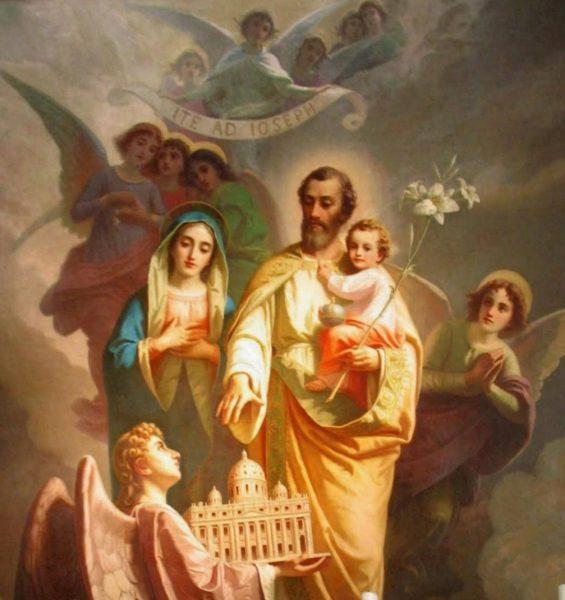 joseph church 565x600 - Tại sao kính thánh Giuse vào tháng ba?