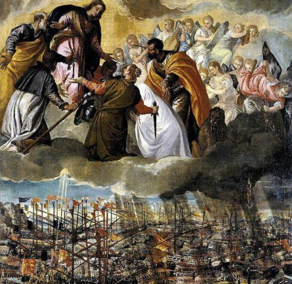 lepanto 600x583 - Quy chế các vụ hiện ra thời Trung Cổ và thời các Công Đồng Chung trong Giáo Hội