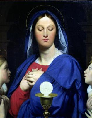 mary and eucharist - Mẹ Maria và Thánh Thể