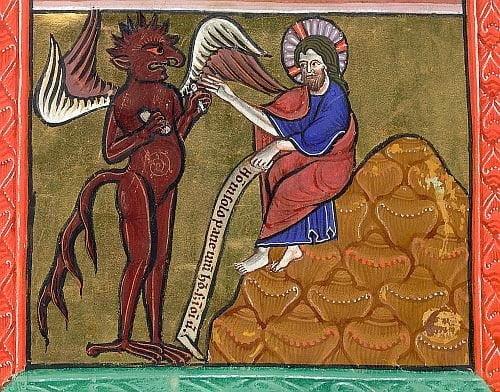 temptation of christ - Ăn chay hay ăn chơi?