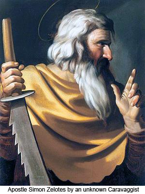 unknown caravaggist st simon the zealot the apostle - Tôn giáo vào thời Chúa Giêsu