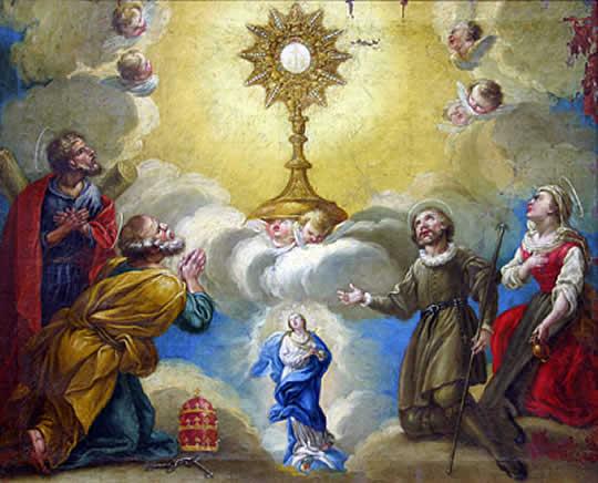 eucharist - Tại sao phải rước lễ trong mùa Phục sinh?