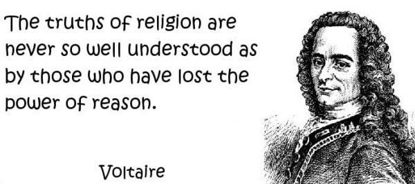 Lập trường tôn giáo của Voltaire