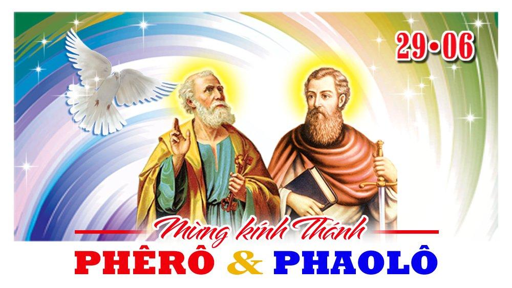 Tại Sao Hai Thánh Tông Đồ Cả Lại Được Mừng Lễ̃ Chung Với Nhau?