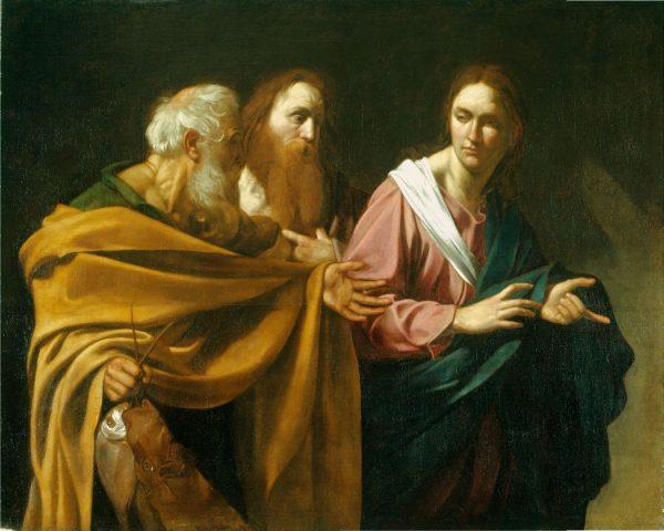 caravaggio peter andrew grt 600x480 - Trở lại câu chuyện Phê-rô và An-rê, ai là anh, ai là em?