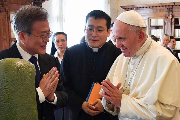 Đức Thánh Cha Phanxicô sẵn sàng đến thăm Bắc Hàn vì nền hòa bình của bán đảo Triều Tiên