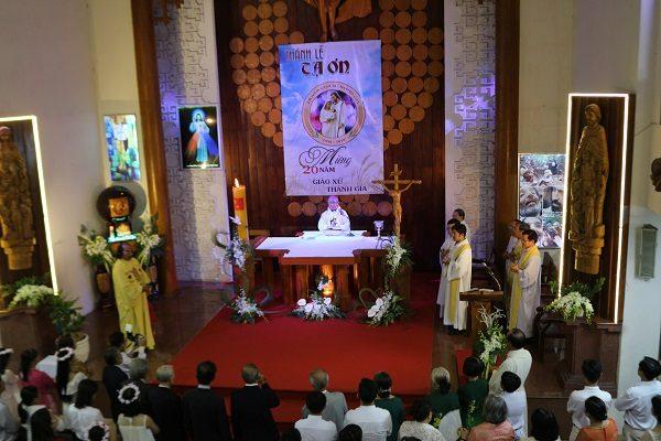 2o nam thanh lap giao xu thanh gia 600x400 - 2O năm thành lập giáo xứ Thánh Gia