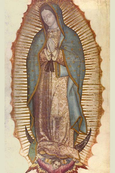 4 dieu ky dieu ve duc me guadalupe 400x600 - 4 Điều kỳ diệu về Đức Mẹ Guadalupê