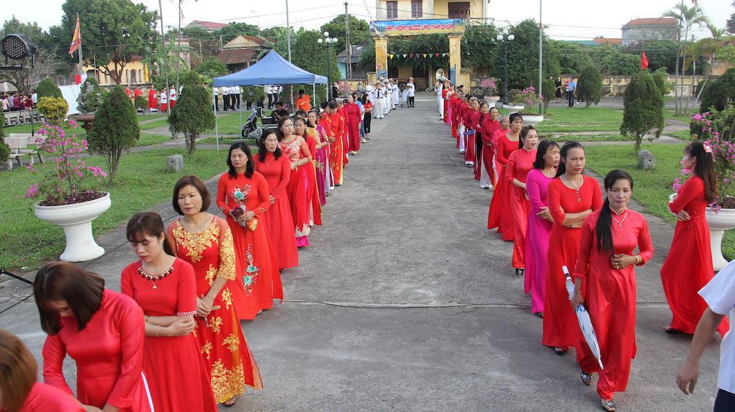 NgocDong 7838 - Thánh lễ ban sắc phong Đền thánh Ngọc Đồng – Đền kính các thánh tử đạo