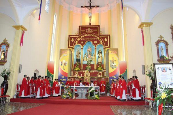 NgocDong 8023 600x400 - Thánh lễ ban sắc phong Đền thánh Ngọc Đồng – Đền kính các thánh tử đạo