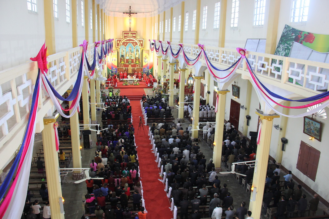 NgocDong 8048 - Thánh lễ ban sắc phong Đền thánh Ngọc Đồng – Đền kính các thánh tử đạo