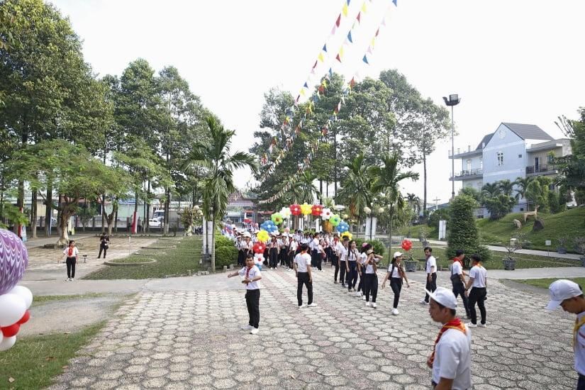 XuanLoc HuynhTruong 03 - Họp mặt và mừng bổn mạng Giáo lý viên - GP Xuân Lộc