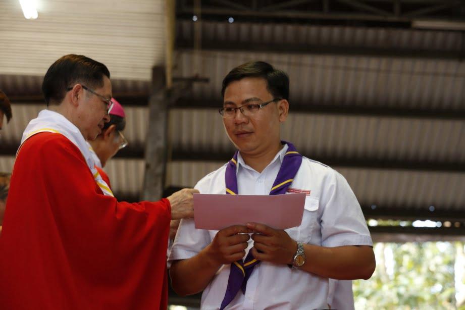 XuanLoc HuynhTruong 10 - Họp mặt và mừng bổn mạng Giáo lý viên - GP Xuân Lộc