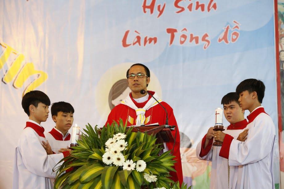 XuanLoc HuynhTruong 11 - Họp mặt và mừng bổn mạng Giáo lý viên - GP Xuân Lộc