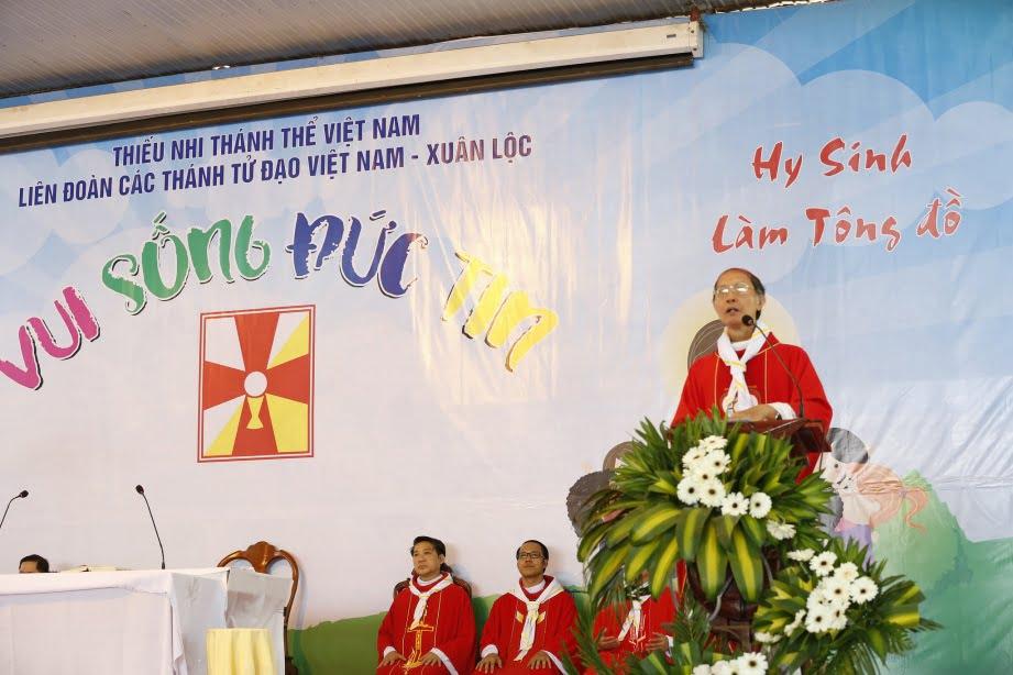 XuanLoc HuynhTruong 12 - Họp mặt và mừng bổn mạng Giáo lý viên - GP Xuân Lộc