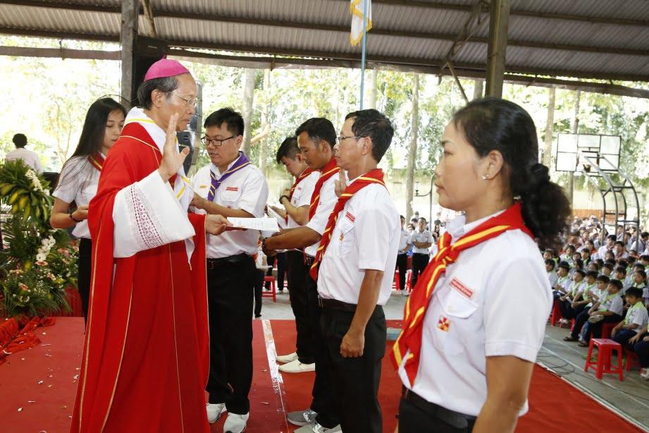 XuanLoc HuynhTruong 13 - Họp mặt và mừng bổn mạng Giáo lý viên - GP Xuân Lộc