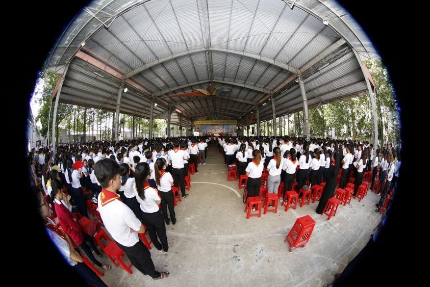 XuanLoc HuynhTruong 14 - Họp mặt và mừng bổn mạng Giáo lý viên - GP Xuân Lộc