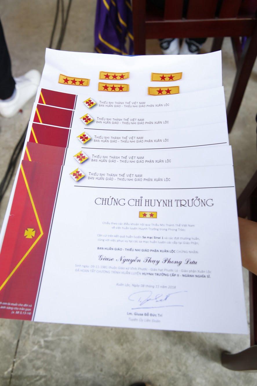 XuanLoc HuynhTruong 16 - Họp mặt và mừng bổn mạng Giáo lý viên - GP Xuân Lộc