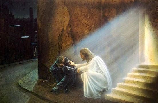 chua giesu chanh long thuong chua lanh va tha thu 2 - Chúa Giêsu chạnh lòng thương chữa lành và tha thứ