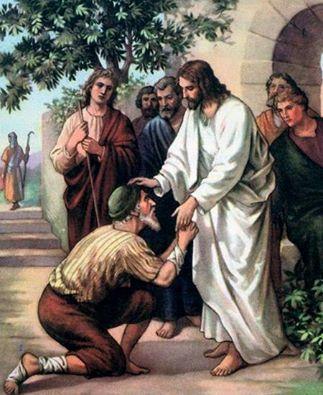 chua giesu chanh long thuong chua lanh va tha thu - Chúa Giêsu chạnh lòng thương chữa lành và tha thứ