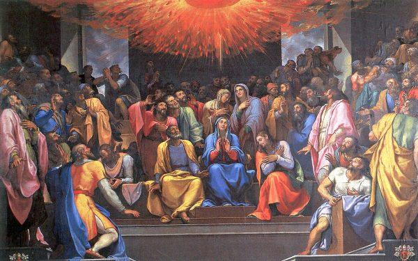 chua thanh than suc song cua hoi thanh 600x375 - Chúa Thánh Thần, sức sống của Hội Thánh