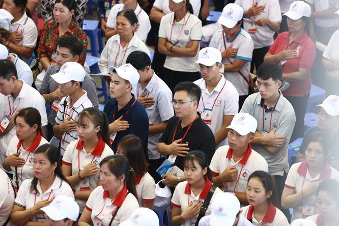 dq2a0283 - Đại hội Giới trẻ giáo tỉnh Miền Bắc lần thứ XVI: Nghi thức khai mạc