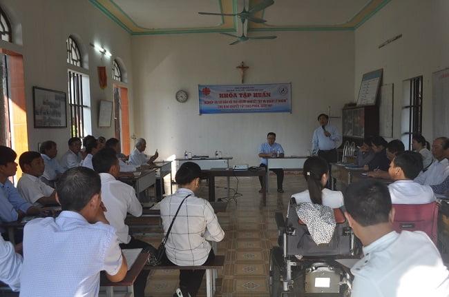 dsc 3344 - Ban khuyết tật Caritas Bùi Chu tập huấn