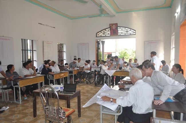 dsc 3399 - Ban khuyết tật Caritas Bùi Chu tập huấn