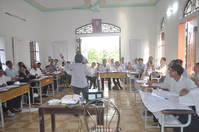 dsc 3411 - Ban khuyết tật Caritas Bùi Chu tập huấn