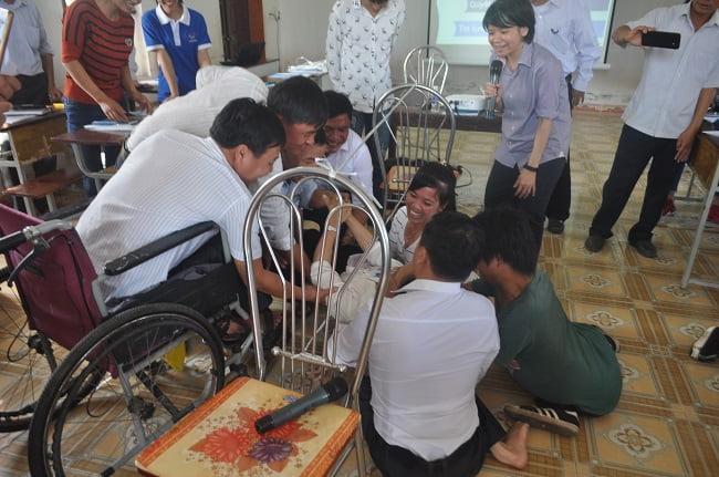 dsc 3440 - Ban khuyết tật Caritas Bùi Chu tập huấn