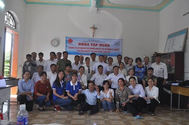 dsc 3467 - Ban khuyết tật Caritas Bùi Chu tập huấn