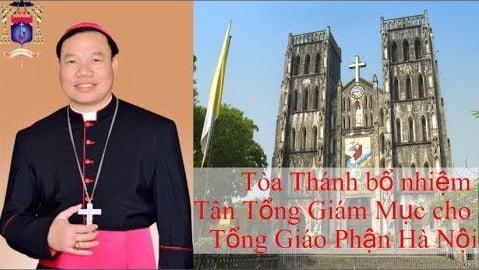 ĐTC Phanxicô bổ nhiệm Đức cha Giuse Vũ Văn Thiên làm Tổng giám mục TGP Hà Nội 3
