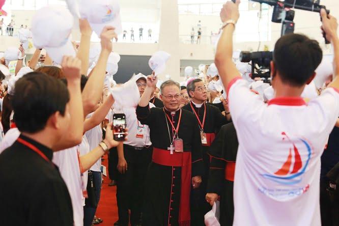 hdv 8562 - Đại hội Giới trẻ giáo tỉnh Miền Bắc lần thứ XVI: Nghi thức khai mạc