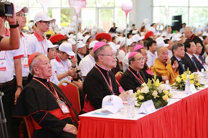 hdv 8565 - Đại hội Giới trẻ giáo tỉnh Miền Bắc lần thứ XVI: Nghi thức khai mạc