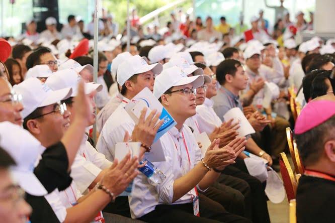hdv 8587 - Đại hội Giới trẻ giáo tỉnh Miền Bắc lần thứ XVI: Nghi thức khai mạc