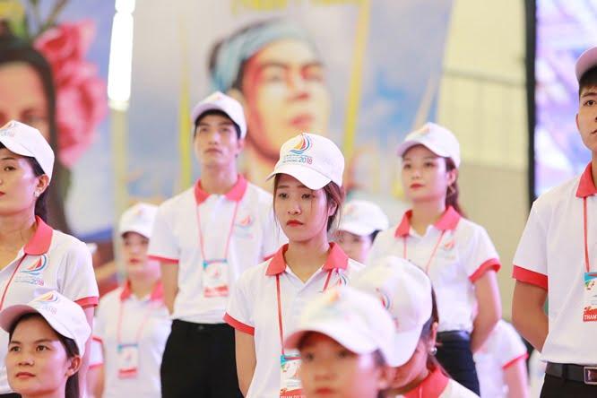 hdv 8606 - Đại hội Giới trẻ giáo tỉnh Miền Bắc lần thứ XVI: Nghi thức khai mạc