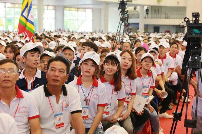 hdv 8618 - Đại hội Giới trẻ giáo tỉnh Miền Bắc lần thứ XVI: Nghi thức khai mạc
