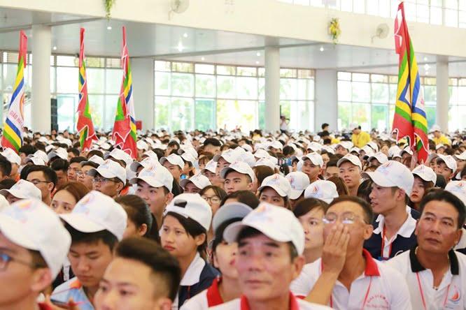 hdv 8623 - Đại hội Giới trẻ giáo tỉnh Miền Bắc lần thứ XVI: Nghi thức khai mạc