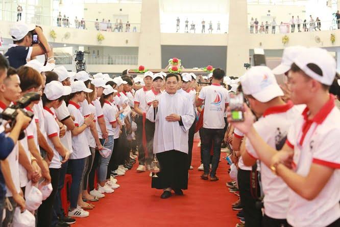 hdv 8630 - Đại hội Giới trẻ giáo tỉnh Miền Bắc lần thứ XVI: Nghi thức khai mạc