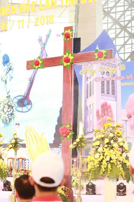 hdv 8632 - Đại hội Giới trẻ giáo tỉnh Miền Bắc lần thứ XVI: Nghi thức khai mạc