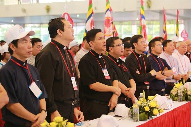 hdv 8635 - Đại hội Giới trẻ giáo tỉnh Miền Bắc lần thứ XVI: Nghi thức khai mạc
