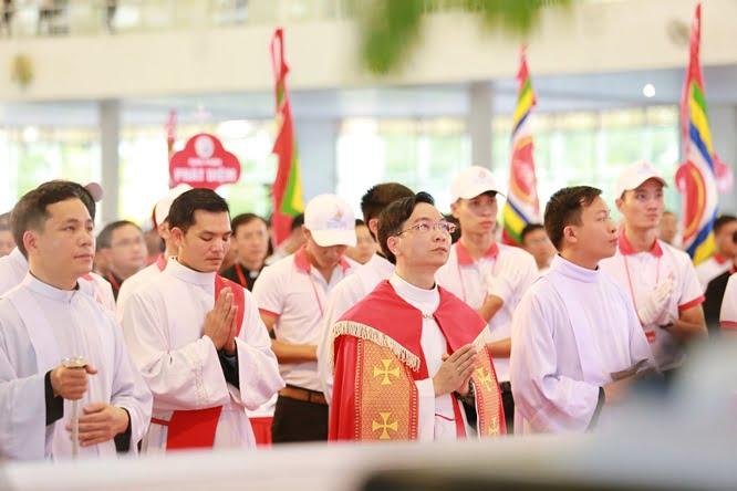 hdv 8653 - Đại hội Giới trẻ giáo tỉnh Miền Bắc lần thứ XVI: Nghi thức khai mạc