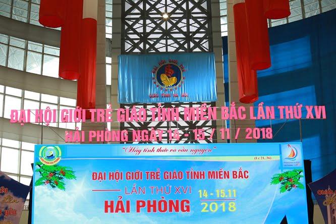hdv 8664 - Đại hội Giới trẻ giáo tỉnh Miền Bắc lần thứ XVI: Nghi thức khai mạc